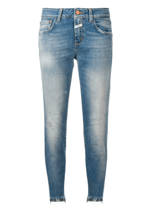 Closed tapered trousers - Blue