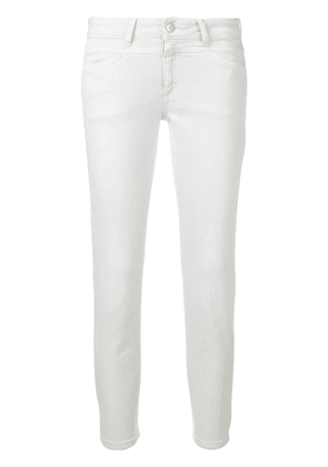 Closed cropped jeans - Grey