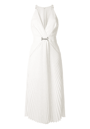 Dion Lee Suspended Sunray dress - White