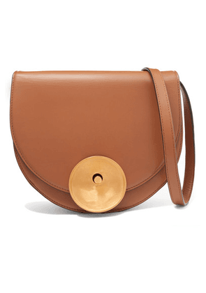 Marni - Monile Large Leather Shoulder Bag - Tan