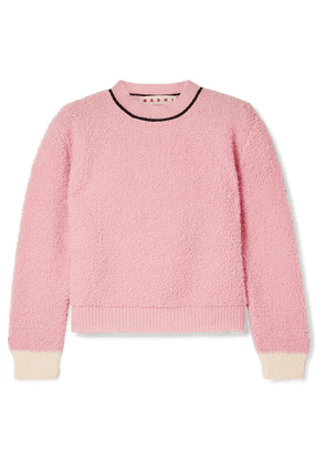 Marni - Wool-blend Fleece Sweater - Pink