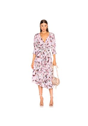 IRO Liky Dress in Floral,Pink,Purple