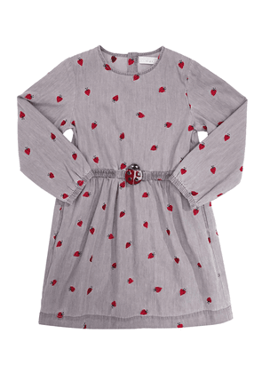 Stella McCartney Kids Flared dress with long sleeves