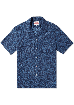 Battenwear Five Pocket Island Shirt Navy Paisley