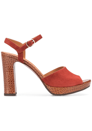 Chie Mihara Casette sandals - Brown