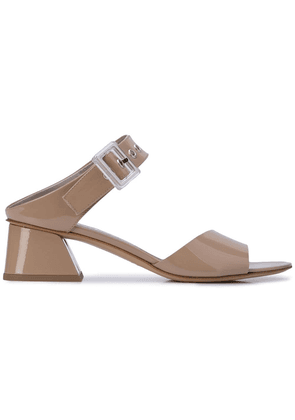 Agl buckle detail mules - Neutrals
