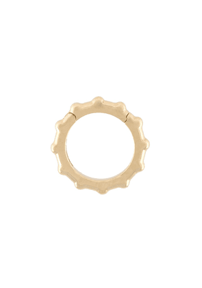 Foundrae Dotted Annex Link charm - Metallic