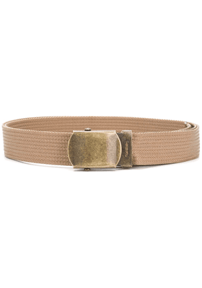 Marni webbed utility belt - Brown