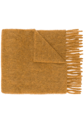 Forte Forte knitted scarf - Neutrals