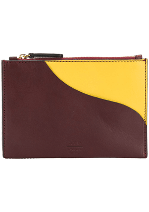 Atp Atelier Tino zip pouch - Brown