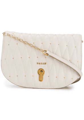 Bally quilted mini bag - Neutrals
