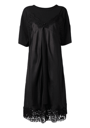 eb370c8d0a3db0 Maison Margiela layered-effect T-shirt dress - Black