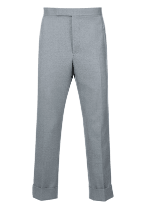 Thom Browne Classic Backstrap Trouser With Red, White And Blue