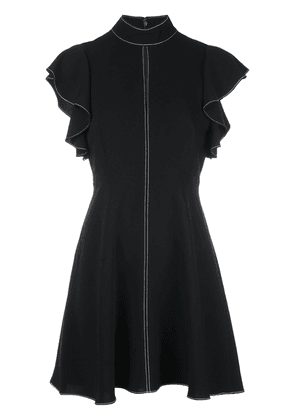 Cinq A Sept Reiko topstitch dress - Black
