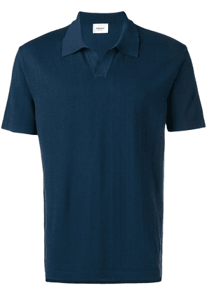 Dondup short sleeve polo shirt - Blue