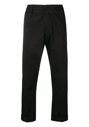 Dondup cropped chinos - Black