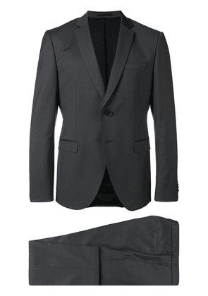 Boss Hugo Boss notched lapel two-piece suit - Grey
