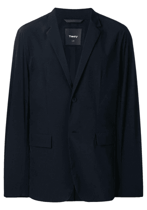 Theory classic single-breasted blazer - Blue