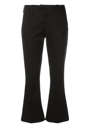 Dondup flared crop trousers - Black