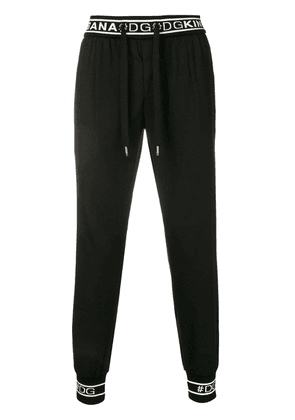 Dolce & Gabbana pull-on trousers - Black