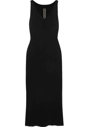 Rick Owens - Crepe Midi Dress - Black