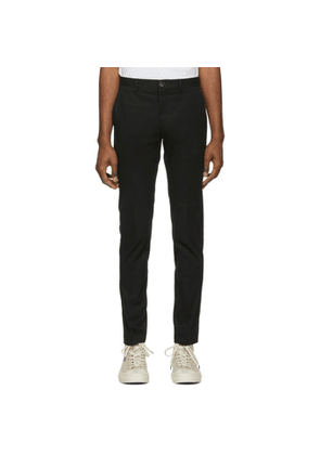PS by Paul Smith Black Slim Chino Trousers