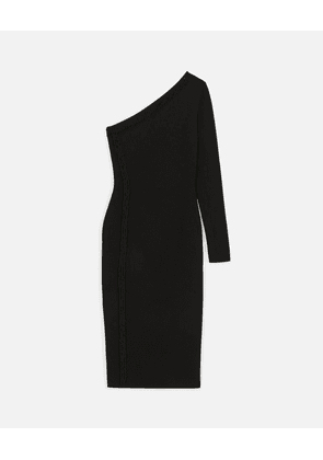 Stella McCartney Black Black Dress Exclusive, Women's, Size 16