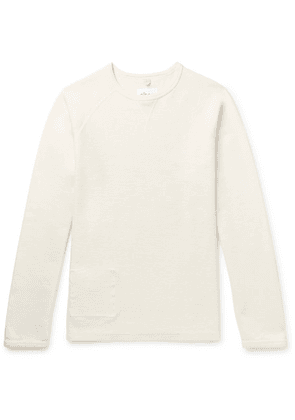 Albam - Lindley Cotton-jersey Sweatshirt - Cream