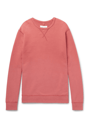 Albam - Loopback Cotton-jersey Sweatshirt - Pink
