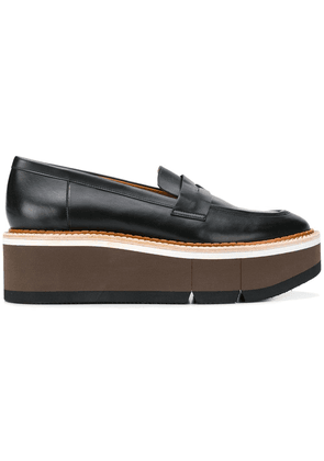 Clergerie chunky mid-heel loafers - Black