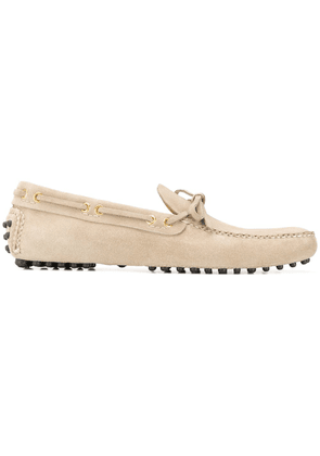 Car Shoe bow detail loafers - Neutrals
