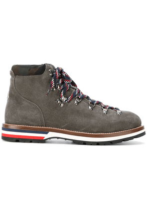 Moncler lace-up boots - Grey