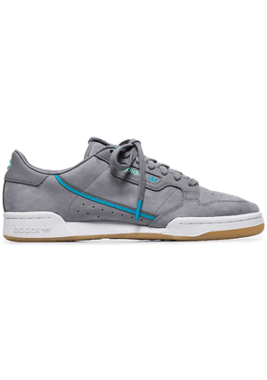 Adidas grey continental 80 leather sneakers - 106 - Grey