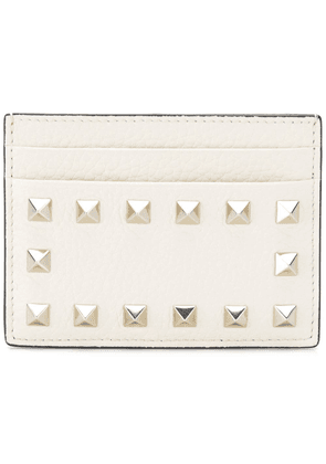 Valentino studded wallet - White