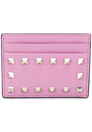 Valentino studded wallet - Pink