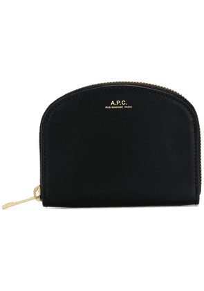 A.P.C. zip around purse - Black