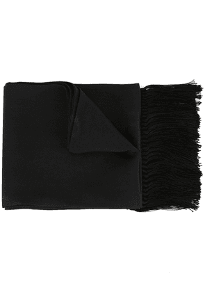 Dolce & Gabbana crown embroidered scarf - Black