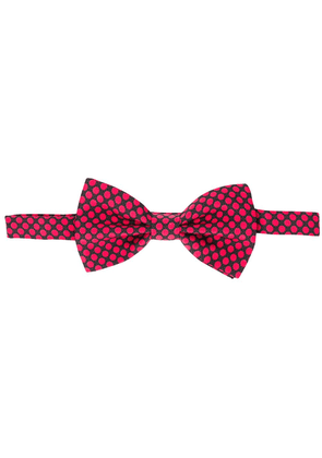 Dolce & Gabbana polka dot bow tie - Red