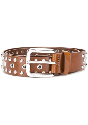 Isabel Marant studded belt - Brown