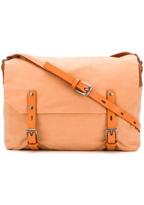 Ally Capellino double buckle crossbody bag - Orange