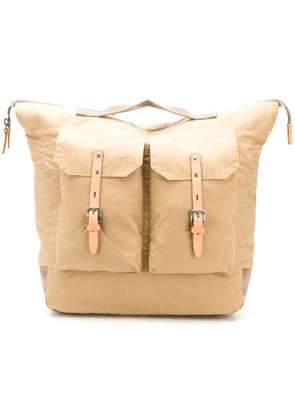 Ally Capellino large Frank backpack - Neutrals