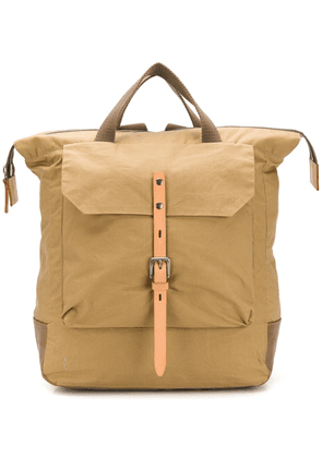 Ally Capellino buckled backpack - Neutrals