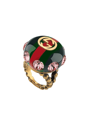 Gucci Vintage Web ring - Green