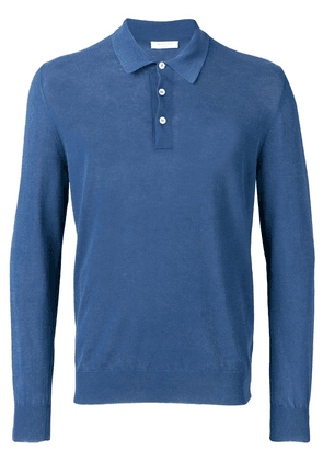 Boglioli basic polo shirt - Blue