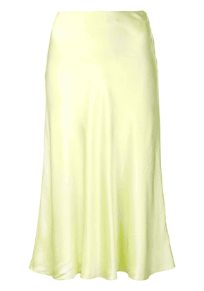 Cinq A Sept Marta sheen mid skirt - Yellow