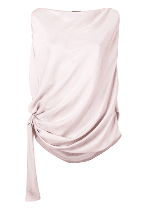 Tom Ford draped top with a knot - Pink