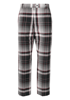 Thom Browne Large Shadow Check Chino Trouser - Blue