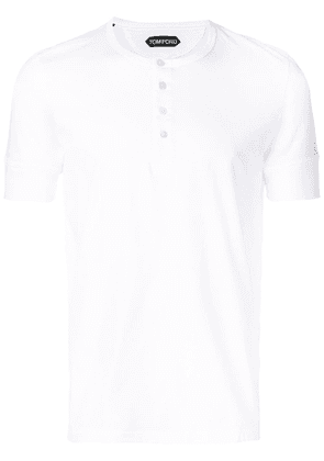 Tom Ford short-sleeve fitted T-shirt - White