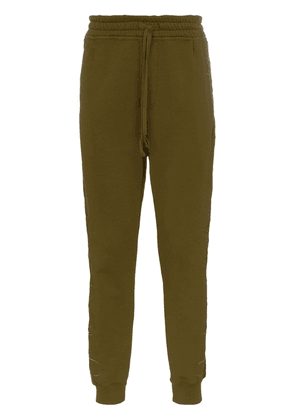 Haider Ackermann Embroidered sweatpants - Green