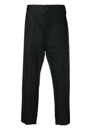 Ann Demeulemeester regular fit chinos - Black